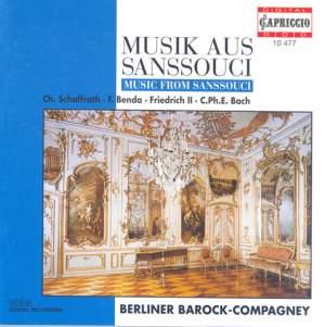 Chamber Music (Baroque) - Frederick Iii / Schaffrath, C. / Bach, C.P.E. / Benda, F. / Janitsch, J.G. (Music From Sanssouci) Product Image