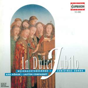 Christmas Songs (In Dulci Jubilo) Product Image