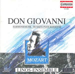 Mozart: Don Giovanni, K527 - Arranged for Wind Ensemble Product Image