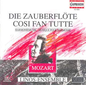 Mozart: Die Zauberflöte & Cosi fan tutte (arr. for Wind Ensemble) Product Image
