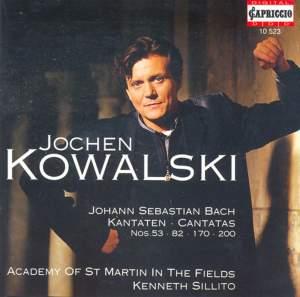 Jochen Kowalski - Bach Cantatas Product Image