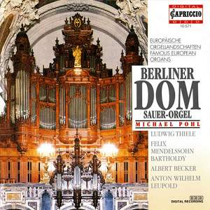 Famous European Organs: Berliner Dom Product Image