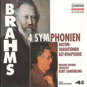 Brahms: 4 Symphonies Product Image