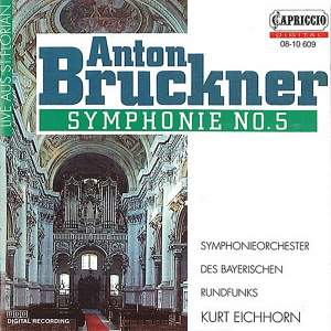 Bruckner: Symphony No. 5 in B flat major Product Image