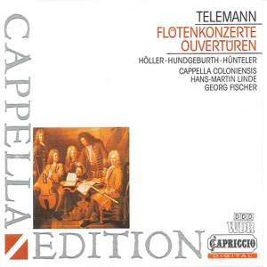 Telemann: Flute Concertos & Overtures Product Image