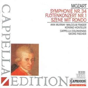 Mozart: Ch'io mi scordi di te, Flute Concerto No. 1 & Symphony No. 34 Product Image