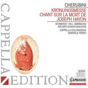 Cherubini: Mass in A major & Chant sur la mort de Haydn Product Image