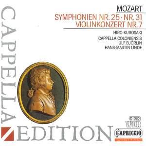 Mozart: Symphonies Nos. 25 & 31 Product Image