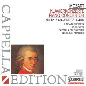 Mozart: Piano Concertos Nos. 12 & 18 Product Image