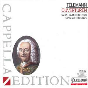 Telemann: Overtures Product Image