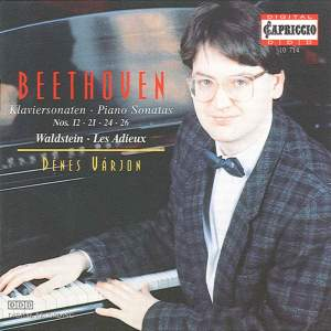 Beethoven: Piano Sonatas Nos. 12, 21, 24, 26 Product Image