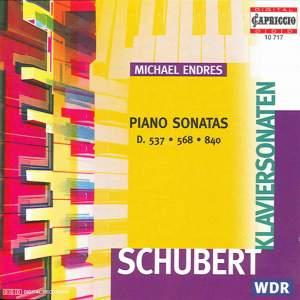 Schubert: Piano Sonatas, No. 4, 8 and 15 Product Image