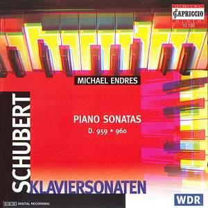 Schubert: Piano Sonatas Nos. 20 and 21 Product Image