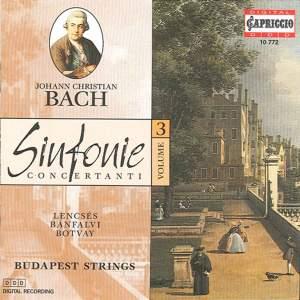 Bach, J.C.: Sinfonie Concertanti, Vol. 3 Product Image