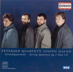 Haydn: String Quartet, Op.  1 No. 1 in B flat major, etc. Product Image