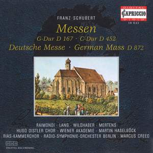 Schubert: Mass No. 2 in G major, D167, etc.