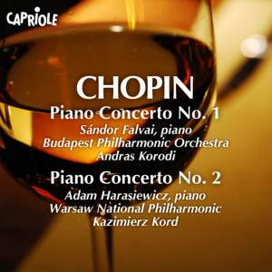 Chopin: Piano Concertos Nos. 1 and 2 Product Image