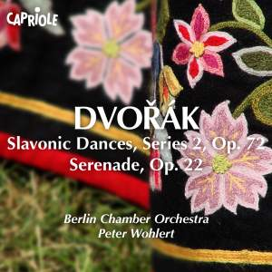 Dvorak: Slavonic Dances Series 2 and Serenade Product Image
