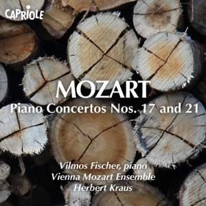 Mozart: Piano Concertos Nos. 17 and 21 Product Image