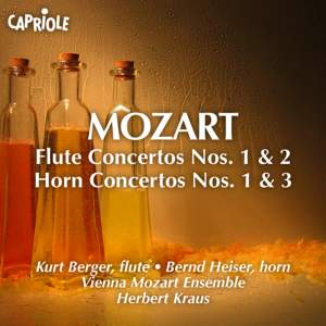 Mozart: Flute Concertos & Horn Concertos Product Image