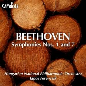 Beethoven: Symphonies Nos. 1 and 7 Product Image