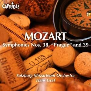 "Mozart: Symphonies Nos. 38, ""Prague"" and 39 Product Image"