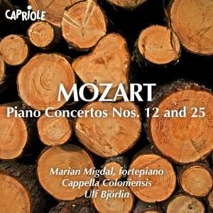 Mozart: Piano Concertos Nos. 12 & 25 Product Image