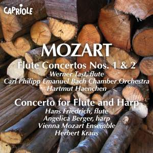 Mozart: Flute Concertos Nos. 1 & 2 and Concerto for Flute and Harp Product Image