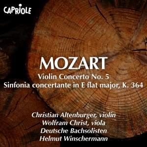 Mozart: Violin Concerto No. 5, 'Turkish' & Sinfonia Concertante, K. 364 Product Image
