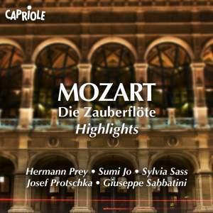Mozart: Highlights from Die Zauberflöte & Idomeneo Product Image