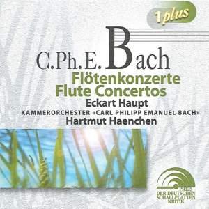 Bach, C.P.E.: Flute Concertos Product Image