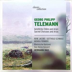 Telemann: Sacred Choruses and Arias Product Image