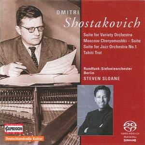 Shostakovich: Suite for Variety Orchestra, Moscow-Cheryomushki Suite Product Image