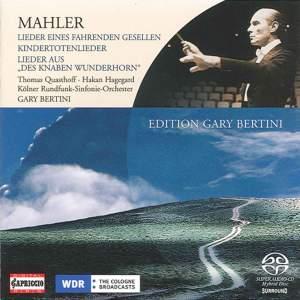 Mahler: Lieder eines fahrenden Gesellen, etc. Product Image