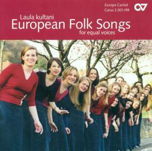 Laula Kultani: European Folk Songs for Equal Voices