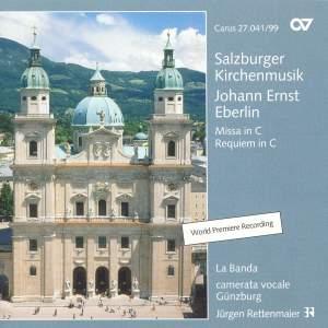 Eberlin, J: Mass No. 34 in C, etc.