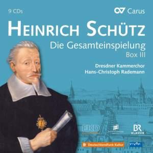 Heinrich Schutz Complete Recording Box III