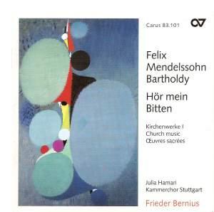 Mendelssohn Church Music I - Hör mein Bitten