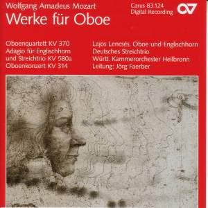 Mozart: Works for Oboe