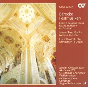 Barocke Festmusiken