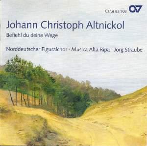 Johann Christoph Altnickol: Befiehl du deine Wege