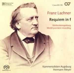 Lachner, F: Requiem in F minor