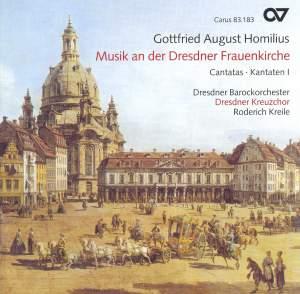 Gottfried August Homilus - Musik an der Dresdner Frauenkirche