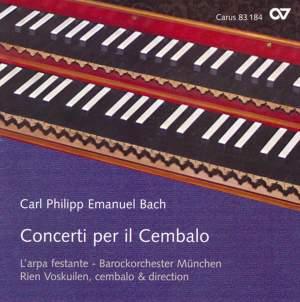 C P E Bach - Concerti per il Cembalo