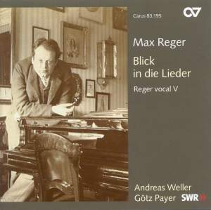 Reger - Lieder with piano
