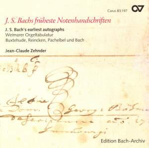 J.S. Bach's earliest autographs