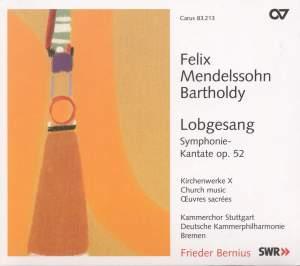 Mendelssohn Church Music X - Lobgesang