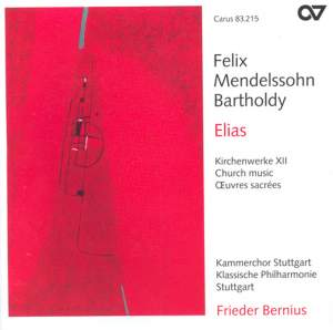 Mendelssohn Church Music XII - Elias