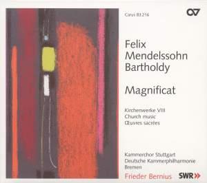 Mendelssohn Church Music VIII - Magnificat