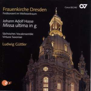 Hasse, J A: Missa ultima in G minor